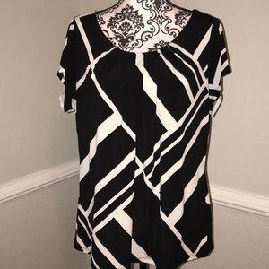 Worthington short sleeve blouse Sz. 1X